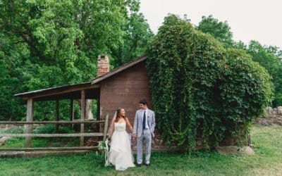 """From Elementary School to """"I Do""""- A Beautiful Outdoor Wedding"""