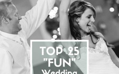 Top 25 Fun Wedding Video Songs
