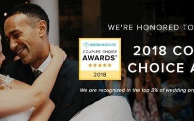 Alyson Nicole is a 2018 WeddingWire Couples' Choice Award® Winner